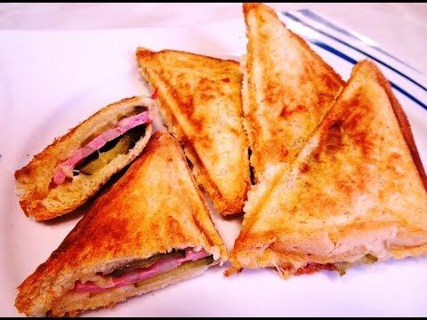 Бутерброд из Бутербродницы, Горячий Бутерброд, Как Приготовить Сэндвич