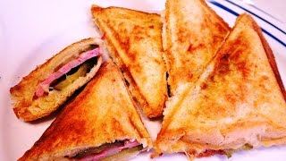 Бутерброд из Бутербродницы Горячий Бутерброд Как Приготовить Сэндвич