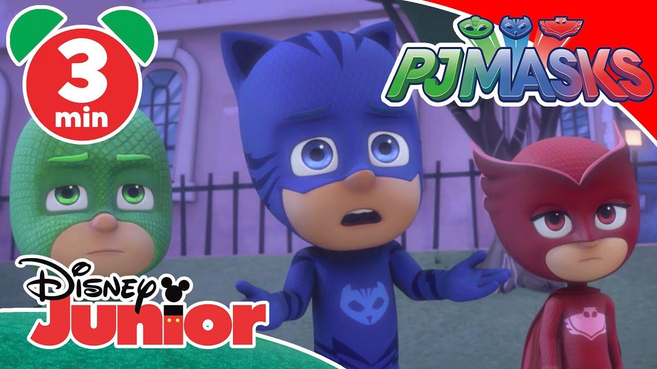 PJ Masks | Robette Tricks Armadylan 🤖 | Disney Junior UK