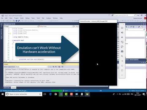 Xamarin Android Emulator In Visual Studio 2017 (Resolve Problem Hyper-V )
