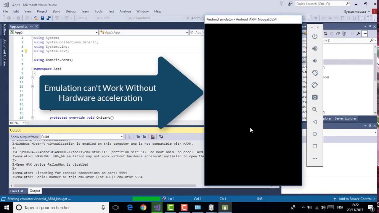 Xamarin Android Emulator In Visual Studio 2017 Resolve Problem