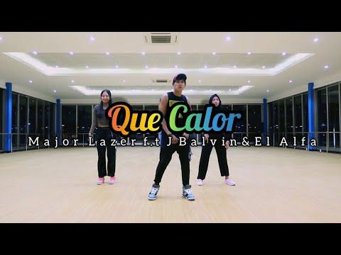 Major Lazer - Que Calor (feat. J Balvin & El Alfa) ZUMBA   FITNESS   At Gobal Sport Balikpapan