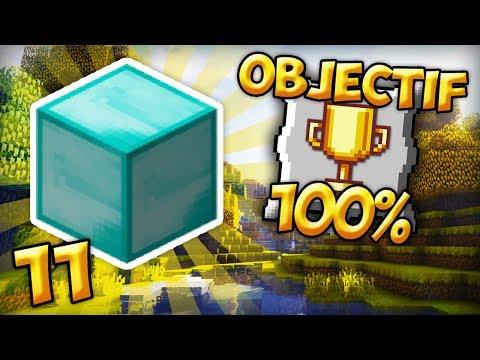 OBJECTIF 100% #11 | Un bloc de diamant ?!?