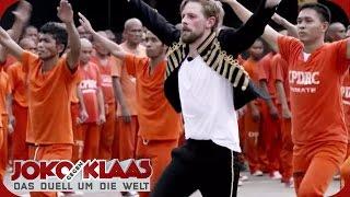 Philippinen: Klaas als Michael Jackson-Double im Knast | Joko gegen Klaas - Das Duell um die Welt |