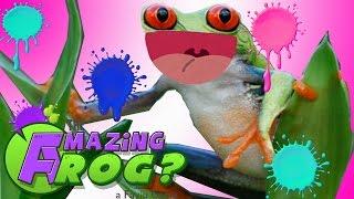 カエルがトイレで〇〇〇!! - バカゲー Amazing Frog 実況プレイ