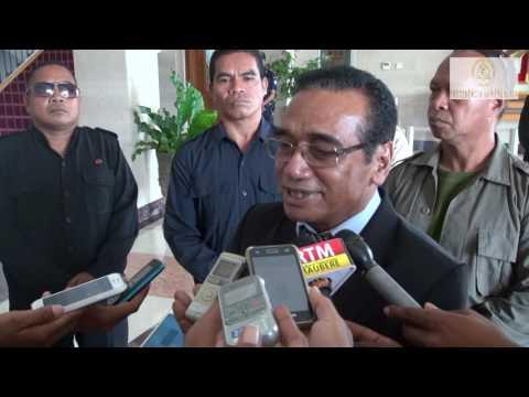 Prezidente Taur Matan Ruak ho Prezidente Eleitu Dr. Francisco Guterres Lú-Olo