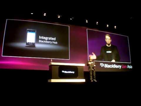 BlackBerry Jam Asia Keynote 2012 - Part 1