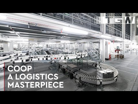 New Distribution Centre for Swiss Food Retailer COOP: A Warehouse Automation Masterpiece