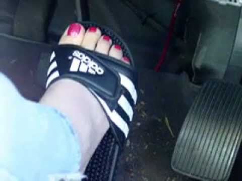 bcd3b873c Driving in adidas sandals - YouTube