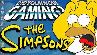 Simpsons Games - Did You Know Gaming? Feat. Caddicarus