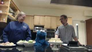 Cookie Monster visits the L.A. Times