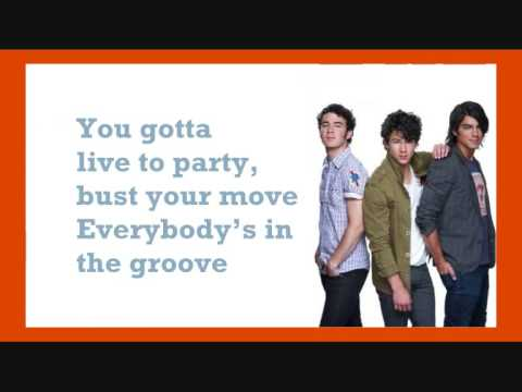 Jonas Brothers - Live To Party + Lyrics + Download