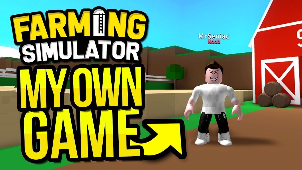 I MADE MY OWN ROBLOX GAME