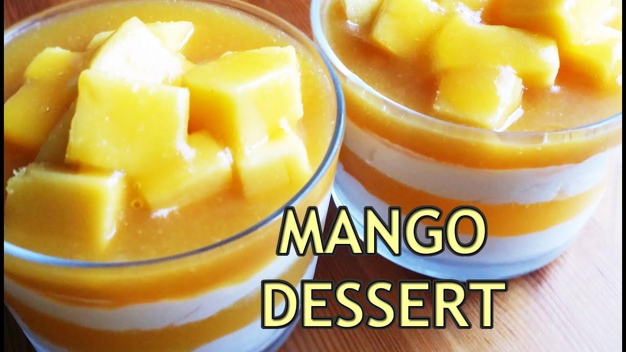 how to make mango dessert