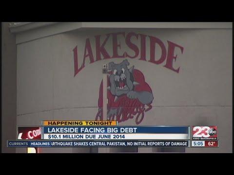 Lakeside School District facing big debt