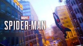26 Minutes of Spider-Man PS4  Web Swinging