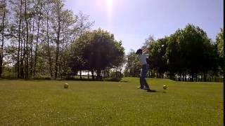 Christian Johnson 12 year old golfer