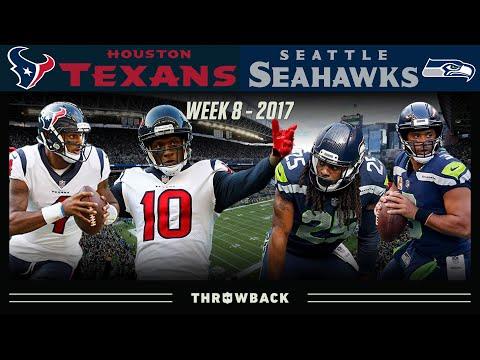 Hopkins & Watson Put the Legion of Boom on Notice! (Texans vs. Seahawks 2017, Week 8)