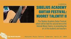 Sibelius Academy Guitar Festival: Nuoret talentit II