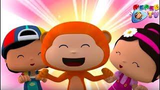 Pepee - Eğlenceli 2 Bölüm Bir Arada - Çizgi Film & Çocuk Şarkıları   Düşyeri