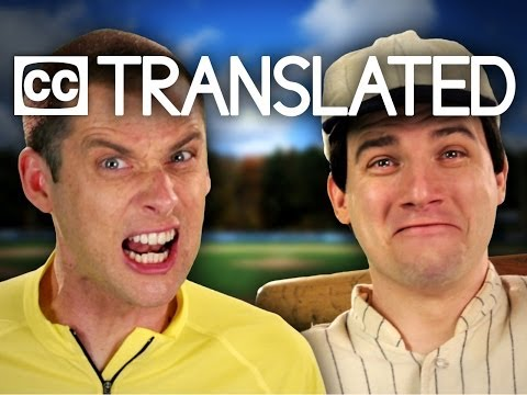[TRANSLATED] Babe Ruth vs Lance Armstrong. Epic Rap Battles of History. [CC]