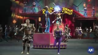 Ringling Bros & Barnum & Bailey Circus arrives in Atlanta for final shows