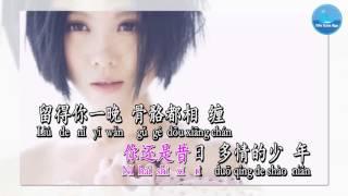Họa Tình - Diêu Bối Na (Karaoke)