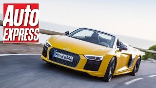 Audi R8 Spyder review: mighty V10 roadster lets rrrrrrrrrip!