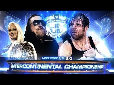 The Miz vs Dean Ambrose - Smackdown 3 January 2017 Highlights HD thumbnail