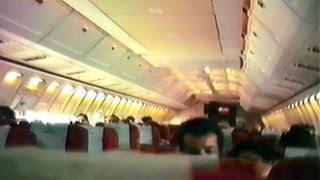 PLUNA Boeing 707 CX-BNU amazing engine spool up sound | night takeoff at Madrid Barajas (17/03/1988)