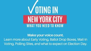 Voting in New York City: What You Need to Know