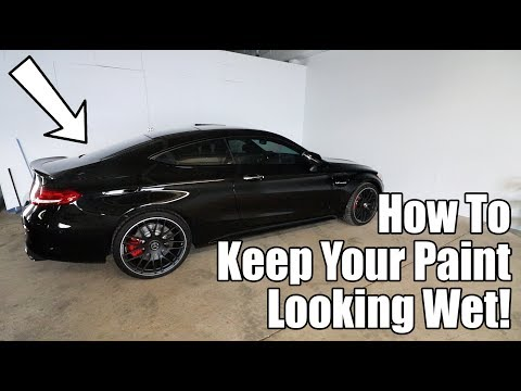 How To Make Your Car S Paint Permanently Glossy Youtube