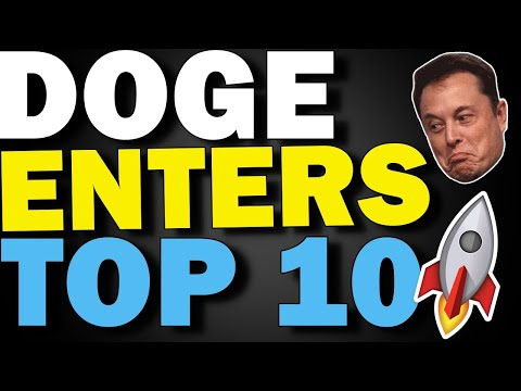 MASSIVE DOGECOIN NEWS TODAY \ WALLSTREETBETS SENDS DOGECOIN IN THE CRYPTOCURRENCY TOP 10 ?!