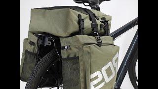 Велорюкзак на багажник - обзор