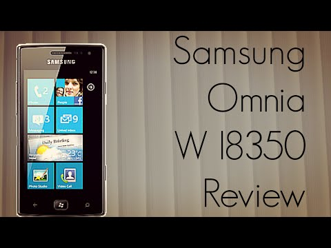 Samsung Omnia W I8350 Review - Windows Phone 7 Mobile - PhoneRadar