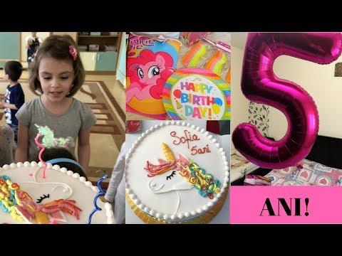 La mulți ani, Sofia! – Vlog săptămâna 9 – 15 aprilie 2018