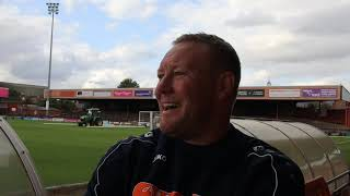 York City 2-0 Leamington | Steve Watson Post-Match