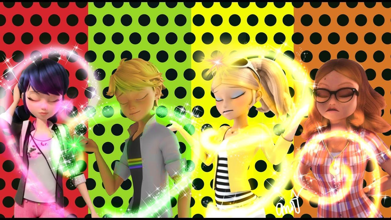 Miraculous Ladybug Speededit: All Transformations in ...