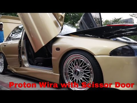 Proton Wira Scissor Door | Galeri Kereta