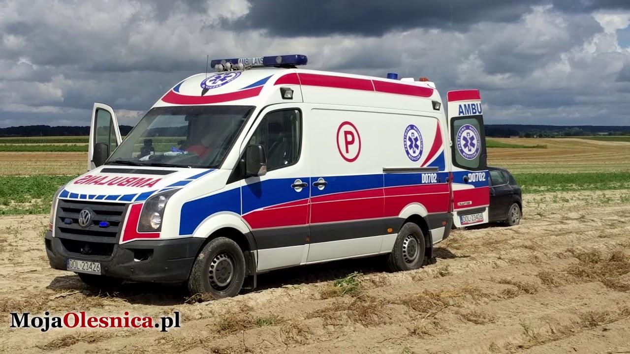 21.08.2017 Siekierowice – wypadek na polu