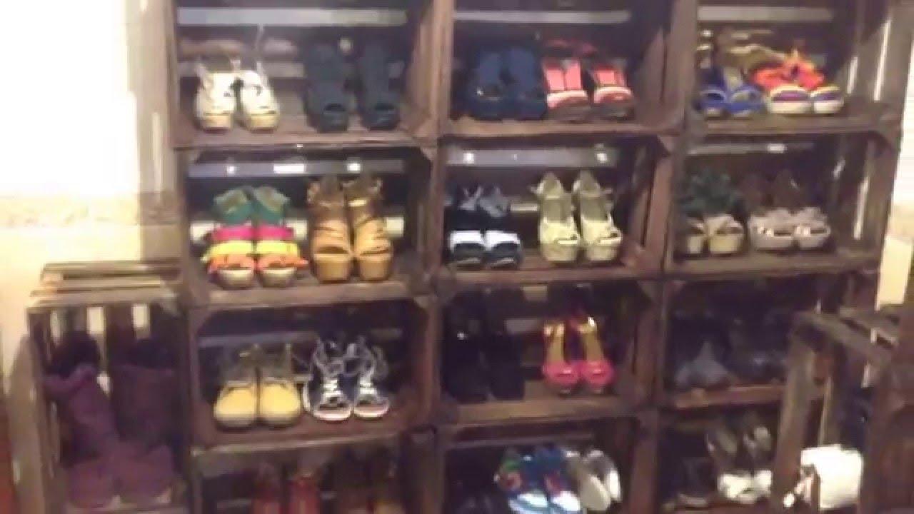 Realizando Zapatero con Materiales Reciclables Mueble