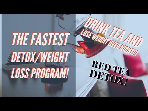 2 weeks weight loss program!Red tea Detox program!