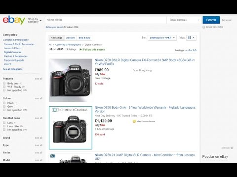 Is a Nikon D750 on eBay UK for £1000 FISHY? (Viewer Question