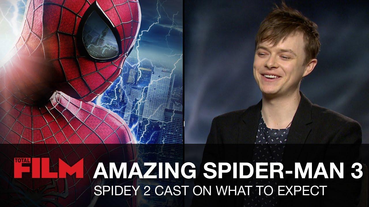 andrew garfield & spider-man 2 cast chat the amazing spider-man 3