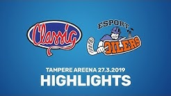 VE1 Classic - Oilers 27.3.2019 Highlights (7-2)