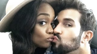 Rachel Lindsay Flaunts Her 'Bling Bling' & Plays DJ on Adorable Road Trip with Fiance Bryan Abaso…