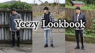Yeezy Lookbook - Outfit Ideas with Yeezy 350 V2 | Ft. MNML, Hyper Denim, Adidas and More