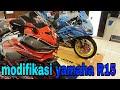 Melihat Sekilas Lebih Dekat Modifikasi Yamaha R15 Keren Abis Coyyyy