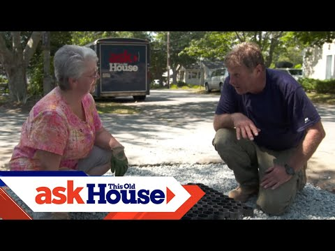How To Build A Grass Driveway | Ask This Old House