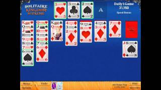 Solitaire Kingdom Supreme Game on Daily1Game
